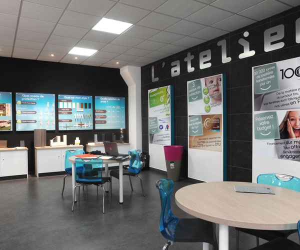 Visite du showroom TLB Habitat
